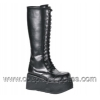 TRASHVILLE-502 Black Faux Leather